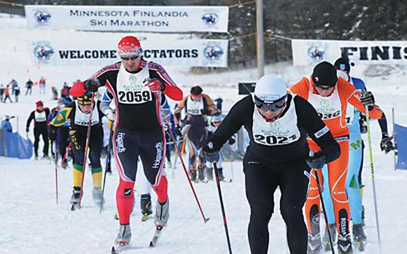 Finlandia cross country ski event